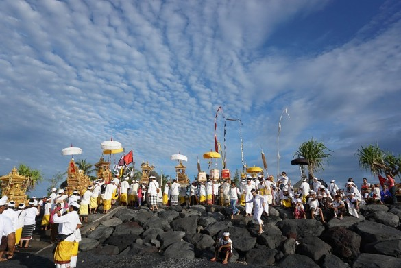 Temple Beach Bali Traditional Culture Religion