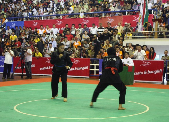 Pencak Silat | Photo courtesy of Wikimedia Commons