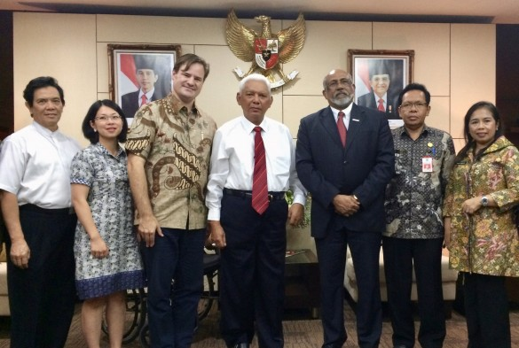 Aceh Parliament members and Indonesian Ambassador to the US. | Photo courtesy of IEP