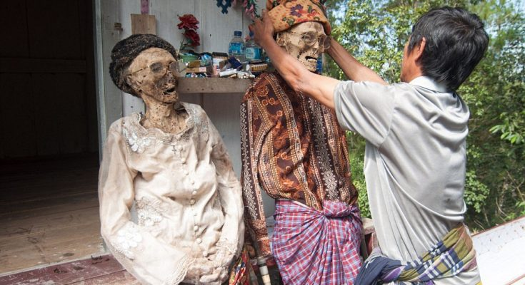 The Living Dead Torajan Funeral Indonesia Expat