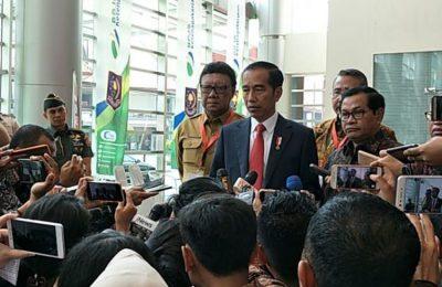 President Jokowi on his speech on the terrorism law
