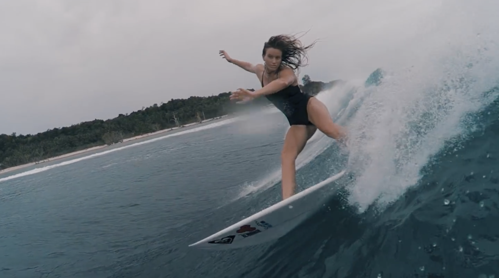 Surfing The Mentawai Islands With Bianca Buitendag