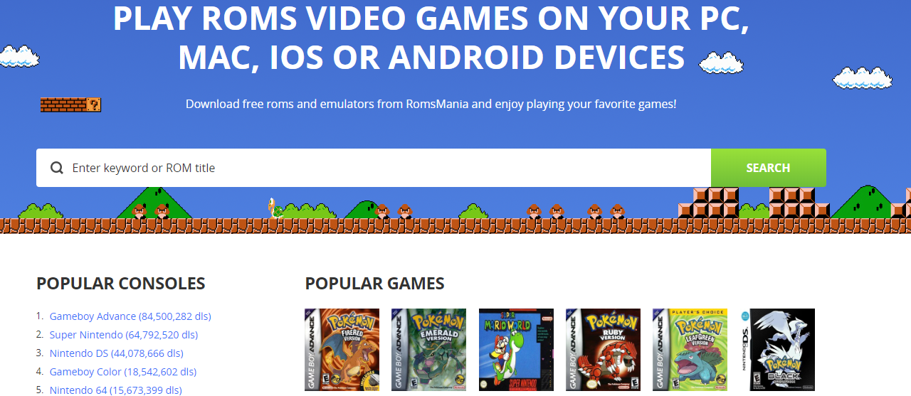 Free gbc rom downloads for android