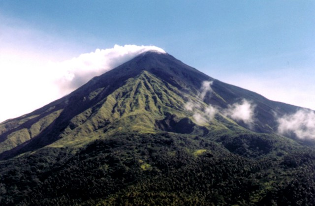 Mount Karangetang rescue