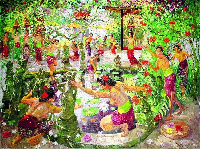 Top 10 Most Expensive Indonesian Paintings Indonesia Expat