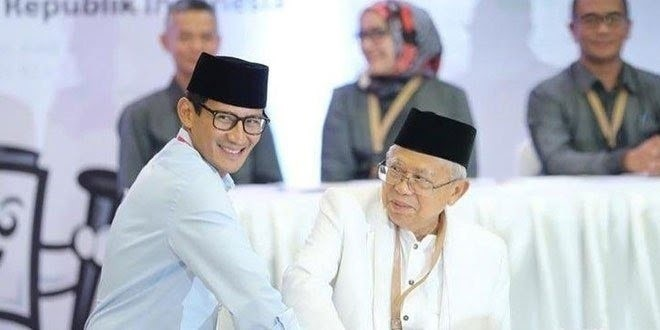 The Country Is Set To Witness A Face Off Between Muslim Cleric K H Maruf Amin And Businessman Sandiaga Uno The Third Presidential Election Debate Will Be