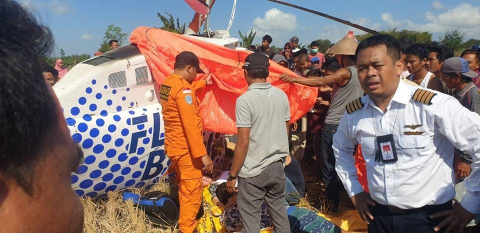 3 Foreigners Injured in Lombok Helicopter Crash – Indonesia