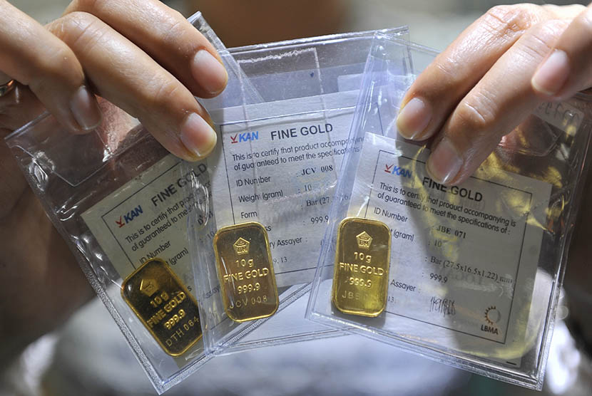 Antam's Gold Bars Rose to Rp15,000, Setting a Record – Indonesia Expat 1