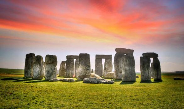 Stonehenge, the UK