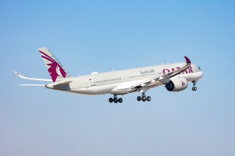 A350 Qatar Airways