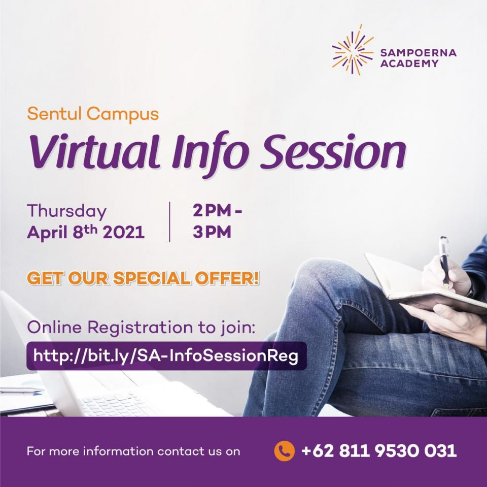Virtual Info Session Sampoerna
